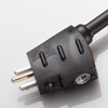 North American AC Power Cord Male Connector