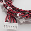 Twisted Pair Wiring Harness with 8-pin and 2-pin connectors